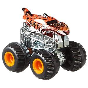 Hot Wheels - Monster Trucks Macchina in Scala 1/100 Veicolo Assortito, Giocattolo per Bambini 4+ Anni, GBR24