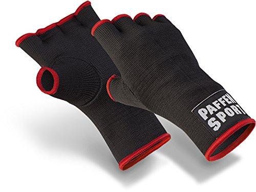 Paffen Sport FIT Innenhandschuh, ungepolstert, schwarz fürs Boxen & Kampfsport