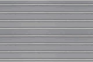 JTT Scenery Products - Láminas de plástico para tejado Acanalado, 10 mm