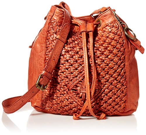 Frye and Co. ESME Bucket Crossbody Bag, Paprika