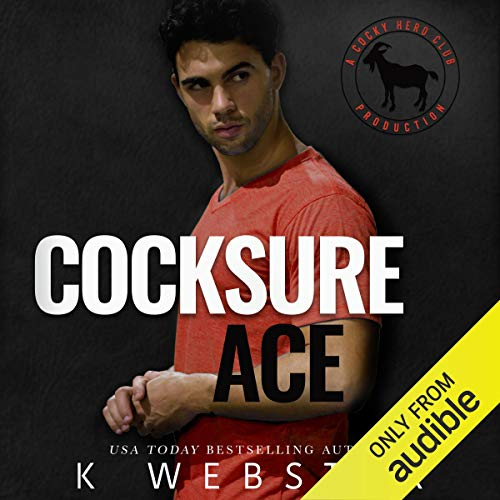 Cocksure Ace audiobook cover art