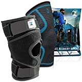 Zenith Knee Brace and Sleeve Bundle - Adjustable Support Braces for Men and Women, Best Ne...