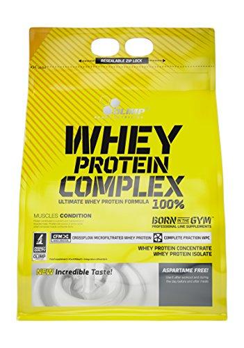 Olimp Whey Protein Complex 100% - Geschmack Erdbeere, 1er Pack (1 x 2.27 kg)