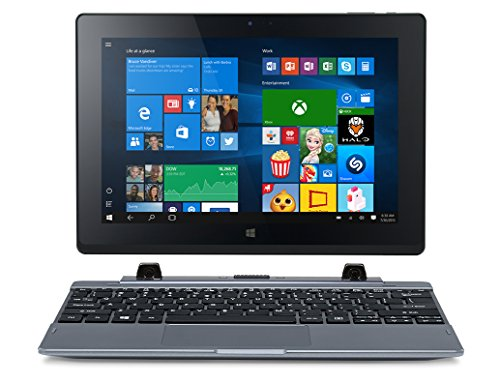 Acer One 10 Convertibile 2 in 1, Display da 10.1' IPS, RAM 2 GB, HDD da 32 GB eMMC, Intel HD Graphics, Argento