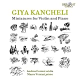 Miniatures for Violin & Piano