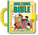 The Angel Bible-God-Heaven-Guardian Angel-Angels-Dream Angels-Jacob's Ladder-Gabriel-Michael-Joy-Victory-Love-Gods ... Book with Handle and Latch (Handy Bible)