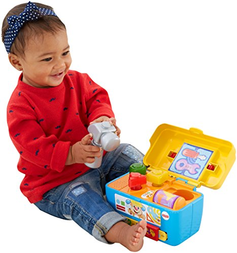 Fisher-Price CGV12 Laugh and Learn Smart Stages Jouet Boîte à Outils