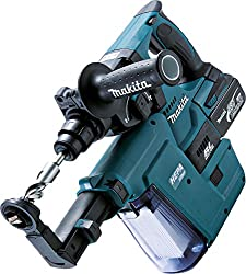 Makita cordless combi hammer for SDS Plus, (18 V / 5,0 Ah, 2 batteries and charging station in Makpac), DHR243RTJV