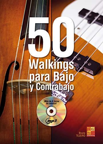 50 walkings para bajo y contrabajo - 1 Libro + 1 CD