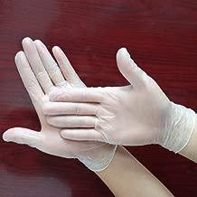 Guantes de Seguridad para Examenes M/édicos y Laboratorios Paquete Individual Est/éril S Anchura de Palma: 8 cm Tansoole 30 Pares Guantes de L/átex sin Polvo Color Blanco Natural