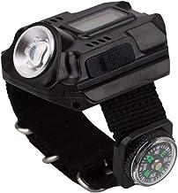 XPE Q5 R2 LED-polshorloge zaklamp zaklamp USB opladen pols zaklamp