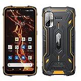 CUBOT King Kong 5 Pro - Smartphone de 6.1' HD+, 4GB y 64GB, Cámara Triple 48 MP, Batería 8000mAh, Android 11, Procesador Octa Core, Color Negro