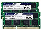 Timetec 16GB KIT(2x8GB) Compatible for Apple DDR3L 1600MHz for Mac Book Pro(Early/Late 2011,Mid 2012), iMac(Mid 2011,Late 2012,Early/Late 2013,Late 2014,Mid 2015), Mac Mini(Mid 2011,Late 2012)