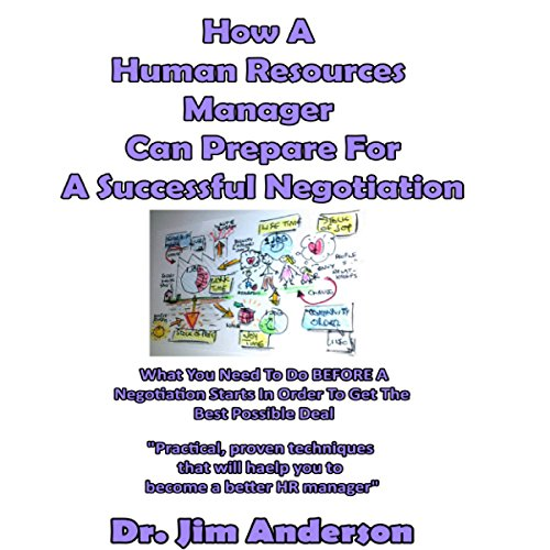 How a Human Resources Manager Can Prepare for a Successful Negotiation audiobook cover art