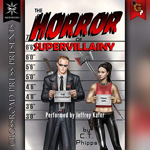 The Horror of Supervillainy cover art