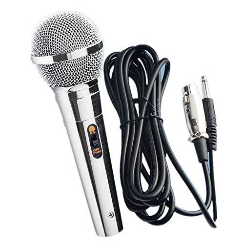 Micrófono Dinámico Profesional metal para Karaoke Cantar c