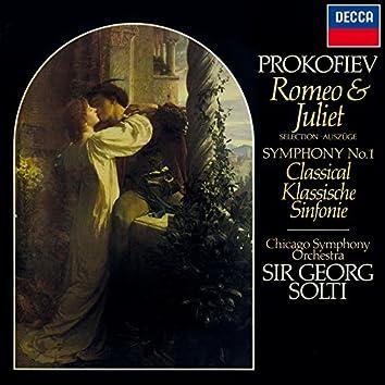 "Prokofiev: Romeo & Juliet (Highlights); Symphony No. 1 ""Classical"""