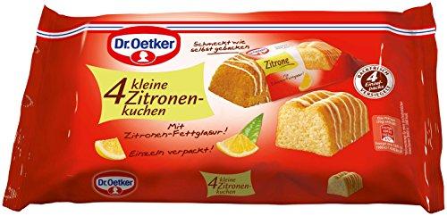 Dr. Oetker - 4 Kleine Zitronenkuchen - 140g