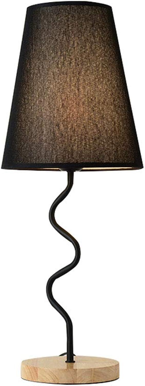 LCSHAN Tischlampe Kreatives Schlafzimmer Nachttischlampe Home Home Home Decoration Nachtlicht (Farbe   SCHWARZ) B07MND716M | Der neueste Stil  ea24a1