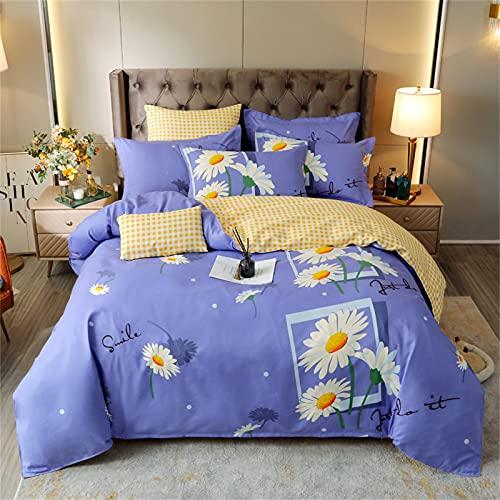 Ropa De Cama Textiles para El Hogar Funda Nórdica con Estampado De Moda, Cómoda, Suave, Duradera Y Fácil De Limpiar 150x200cm