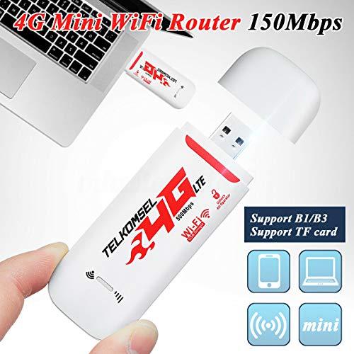 BOINN Tragbare 4G / 3G LTE Auto WiFi Router Hotspot 150 Mbit/S Drahtlos USB Dongle Mobiles Breitband Modem SIM Karte Freigeschaltet