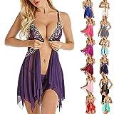 SDCVRE Pyjama eingestellt SDCVRE Pyjama eingestellt Frauen Kleidung gesunde Frauen Pyjamas große Nachtkleid Unterwäsche Frauen Frontverschluss Nachtwäsche Robe Sets...