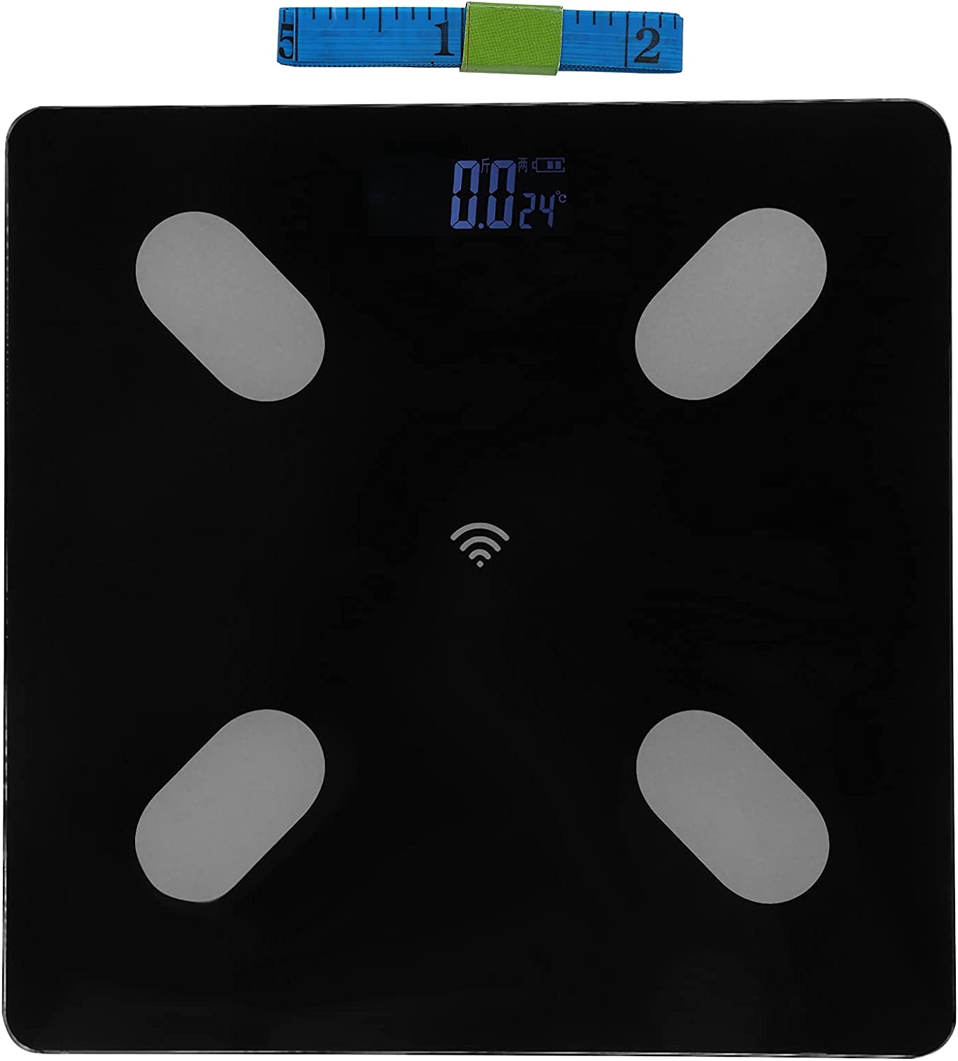 Body Dedication Fat Scale and Weight BMI Composition Max 73% OFF Smart Digi