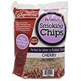 Smoking Chips - (Cherry) 260 cu. in. (0.004m³) - Kiln Dried, 100% Natural Extra Fine Wood Smoker Sawdust Shavings - 2lb Barbecue Chips