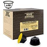 Note D'Espresso Cápsulas de Tisana de Jengibre Exclusivamente Compatibles con cafeteras de cápsulas Nescafé* y Dolce Gusto* 48 unidades da 2.5g, Total: 120 g