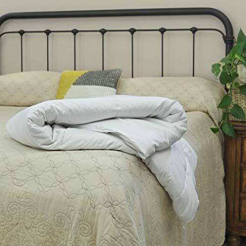 Silk Bedding Direct Edredón Relleno de Seda de Morera. Tamaño Cama Matrimonio. 200cm x 200cm. Peso de Verano. Hipoalergénico. CERTIFICACIÓN: Oeko-Tex Standard 100. Precio DE Venta BAJO