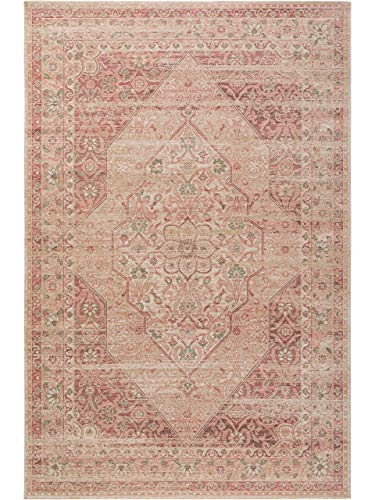 Benuta Frencie 4053894807152 - Alfombra (80 x 165 cm), diseño Vintage, Color Rosa