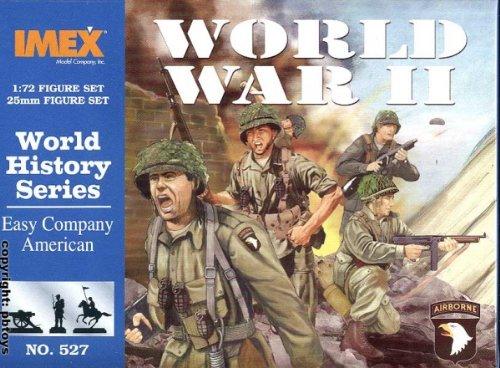 IMEX imex527–1/72 WW II : américaines Easy Company Plastique modèle Kit