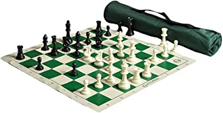 The House of Staunton US Chess Quiver Chess Set Combo - Green (1 Pack)