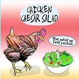 Ensalada de César de pollo