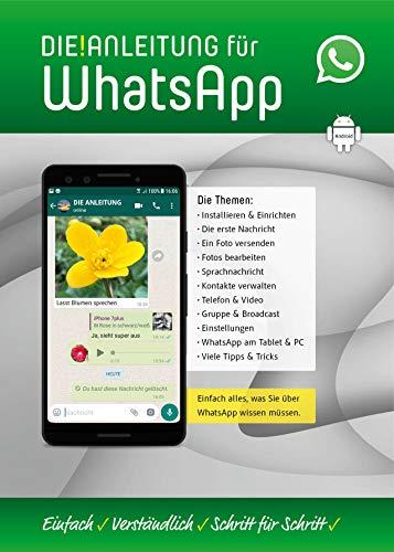 WhatsApp für Android-Smartphones ganz einfach erklärt - speziell für Anfänger und Senioren