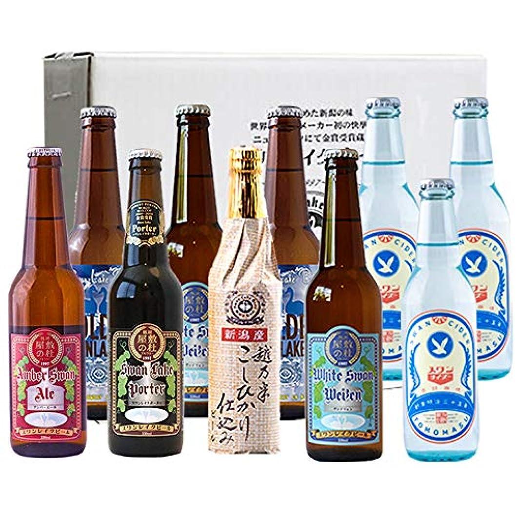 ブラウザ嫌い最終ビール クラフトビール スワンレイクビール 金賞ビール &スワンサイダー10本セット