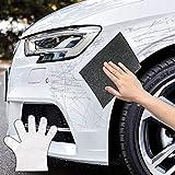 カーワックス 修復布 コンパウンド車 きず消し クロス、カーワックス ポリッシング ワックス 洗車タオル 布 簡単 傷・スクラッチ,Vigny 自動車表面スクラッチ修復傷, ペイント スクラッチ を除去、多目的 修理スクラッチ ナノテクノロジー カー修理キット