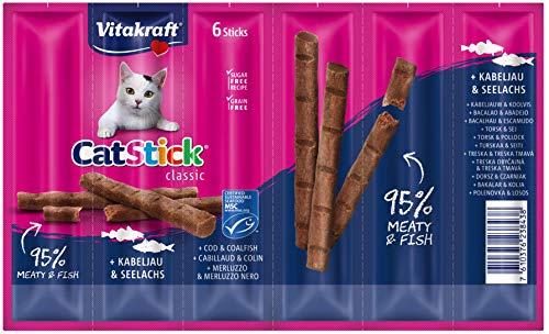 Vitakraft Gatto Snack Cat – Chiavetta Mini 10 pezzi da 6 stick