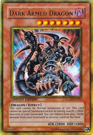 gold dark armed dragon price