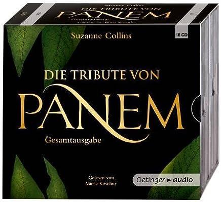 Die Tribute von Panem 1-3 Hörbuch-Gesamtausgabe (18 CD): Gekürzte Lesungen von Collins. Suzanne (2013) Audio CD