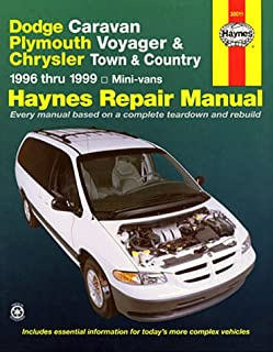 Dodge Caravan, Plymouth Voyager & Chrysler Town & Country ~ 1996 thru 1999 Mini-vans (Haynes Repair Manual)