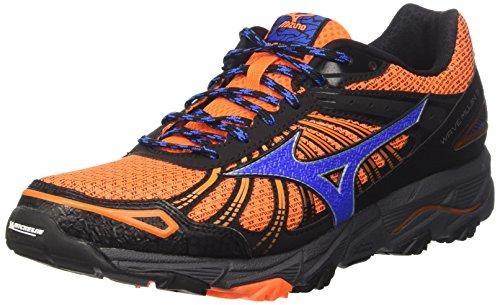 Mizuno Wave Mujin 3  J1GC1670 - Zapatillas de Running para Asfalto de Hombre , Naranja (Clownfish/strong Blue/dark Shadow) , 44.5 EU
