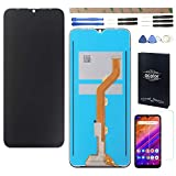 HYYT Black Replacement for BLU G8 G0170LL BLU VIVO XL5 V0470UU BLU V9 V0450UU 6.30' 2019 LCD Display Screen Digitizer Assembly Screen Touch Panel with 1 Screen Protector+Tools