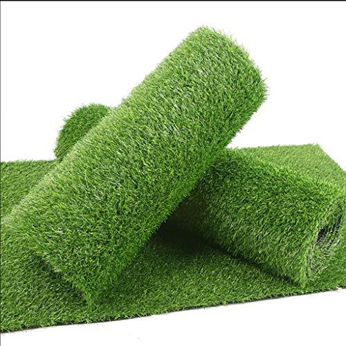 CarPET PDJSHOP Kunstrasen, 30 Mm Pfahlhöhe Rasenfläche Teppichstütze Entwässerungsloch, Geeignet for Außenterrasse Rasen Außendekoration (Size : 2x2m)