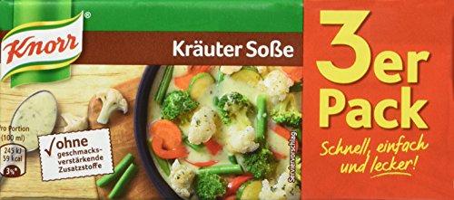 Knorr Kräuter Soße, 3 x 250 ml, 15er Pack