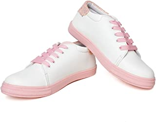 Vendoz Women Stylish Casual Pink Sneakers
