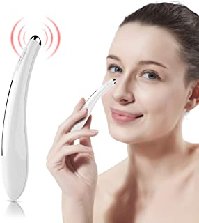 TOUCHBeauty Portable Eye Massager Wand with 40℃ Heated & Sonic Vibration Treatment for Relieving Eyes Dark Circles,Puffiness,Fatigue| Smart Sensor Facial Anti-Aging Galvanic Device TB-1583
