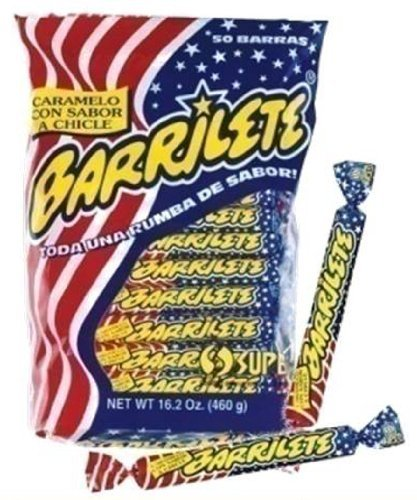 Barrilete Super Chewy Candy Bag 50 Count - SET OF 1