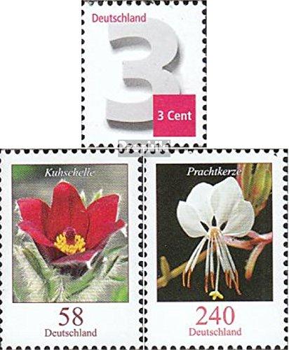 Prophila Collection BRD (BR.Deutschland) 2964,2968-2969 (kompl.Ausg.) 2012 Ergänzungsmarke, Blumen (Briefmarken für Sammler) Pflanzen