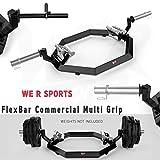 We R Sports Commercial Multi Grip Super Hex Trap Bar Dead Lift & Shrug Bar